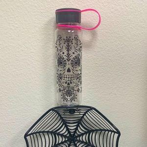 Starbucks day of the dead skull water bottle